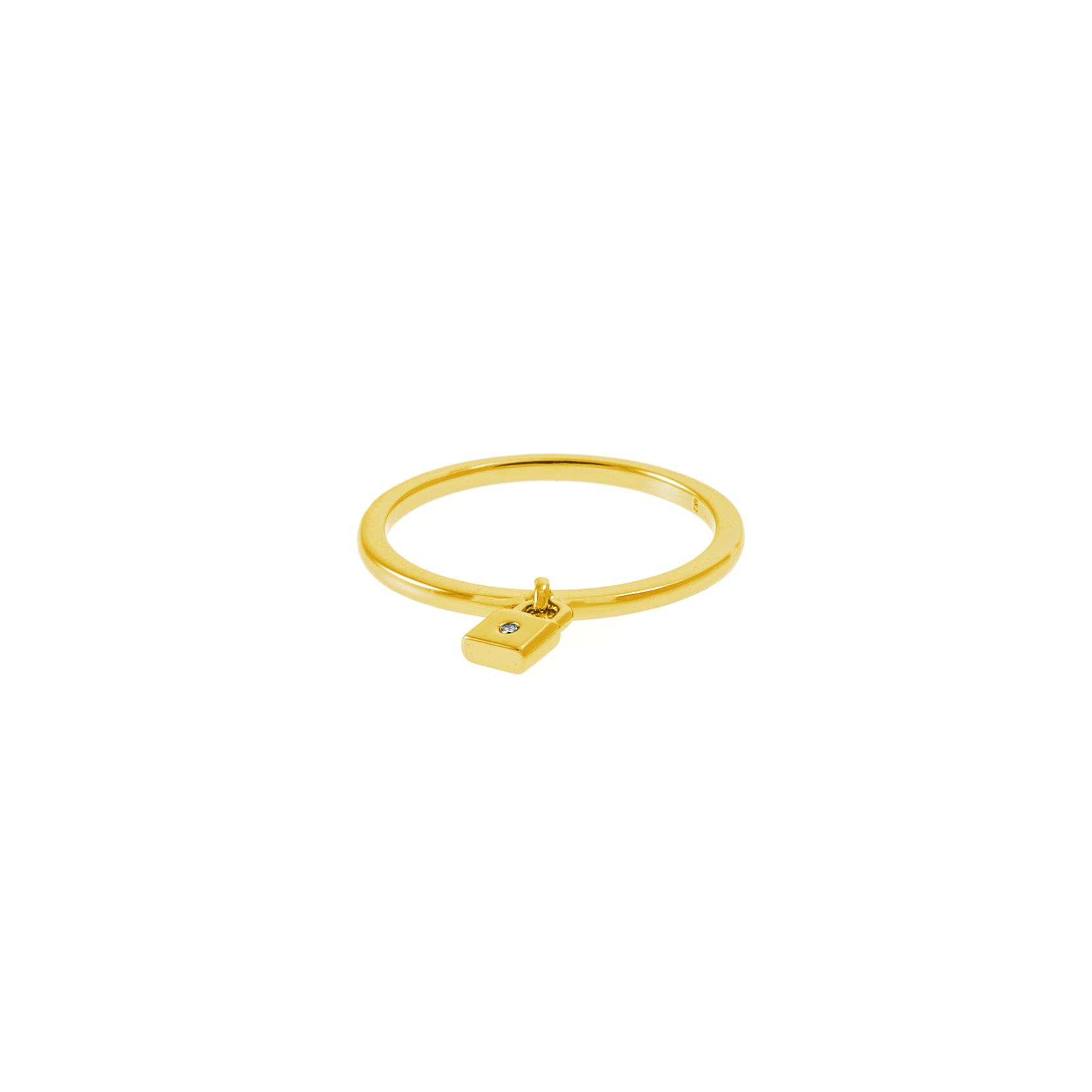 JUICY COUTURE – Δαχτυλίδι PADLOCK JUICY COUTURE