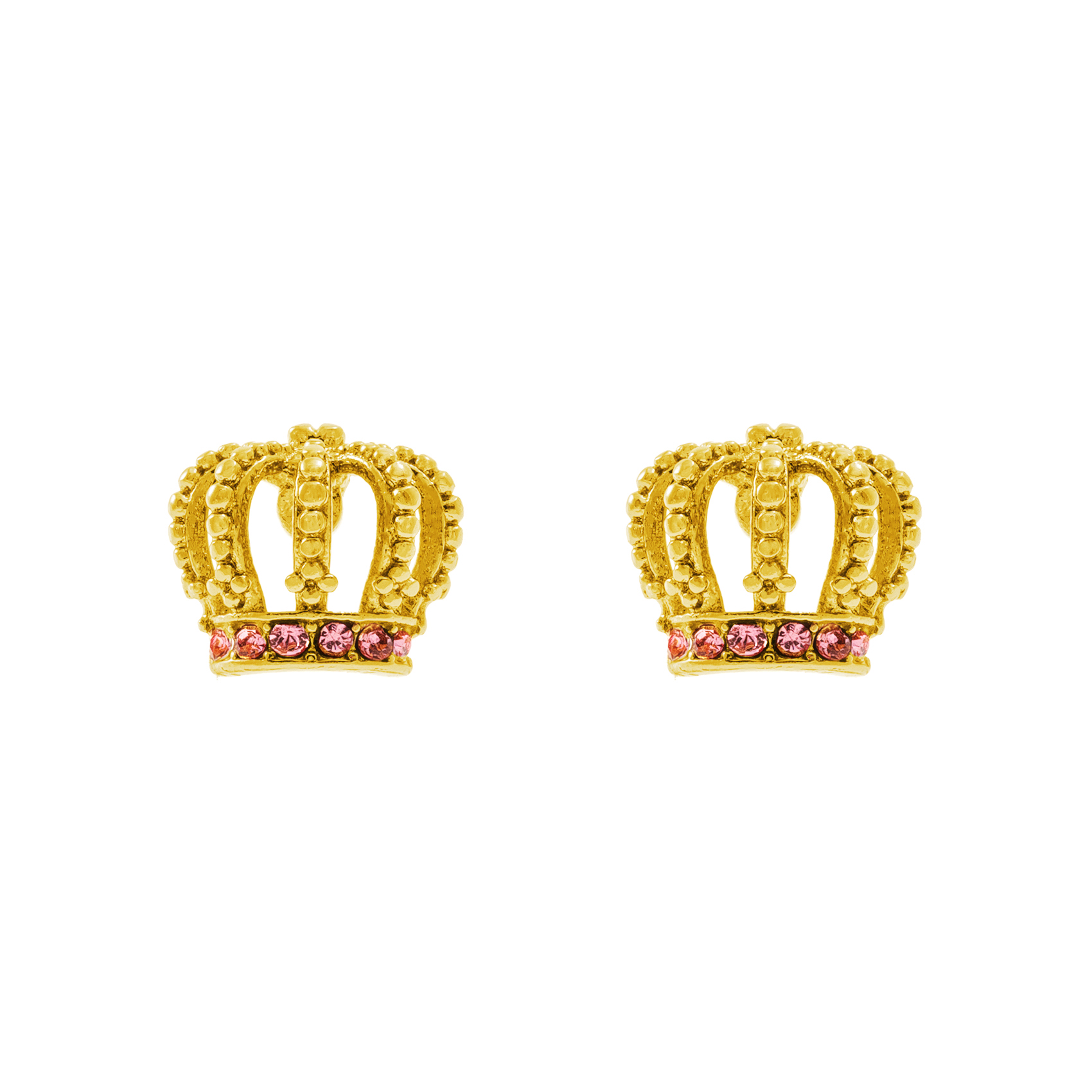 JUICY COUTURE – Σκουλαρίκια JUICY CROWN JUICY COUTURE