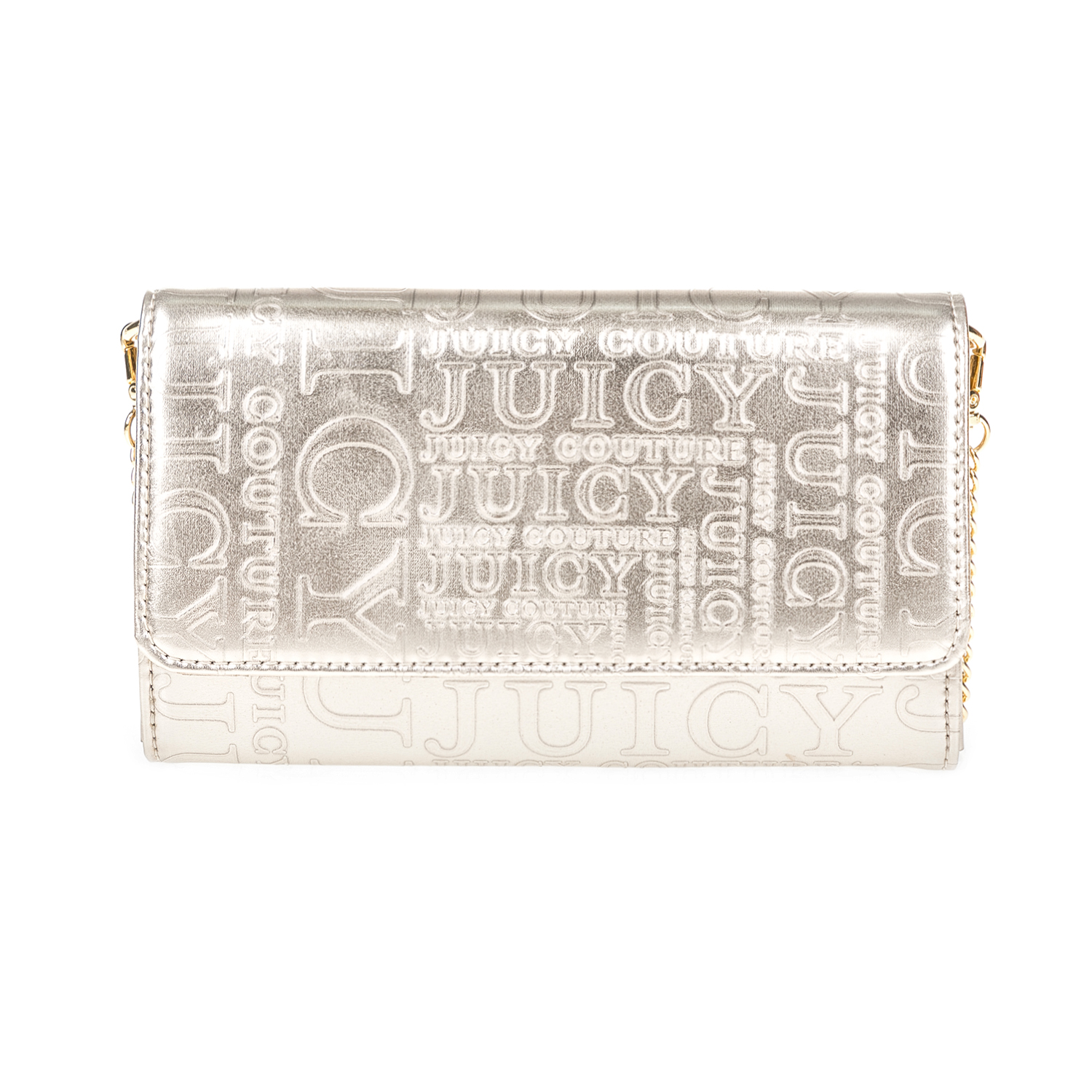 JUICY COUTURE – Γυναικείο τσαντάκι JUICY COUTURE χρυσό
