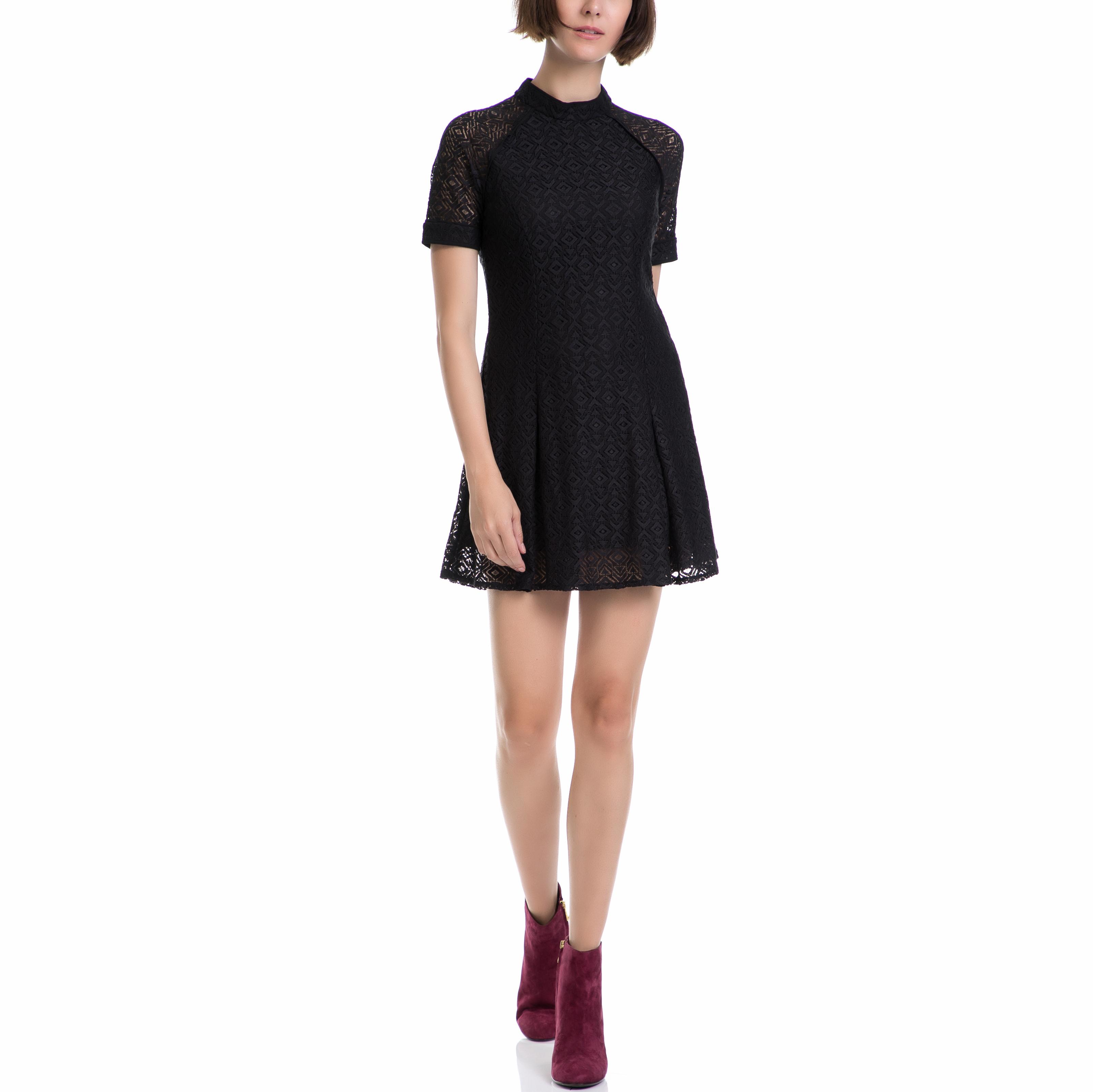 JUICY COUTURE – Γυναικείο φόρεμα JUICY COUTURE μαύρο