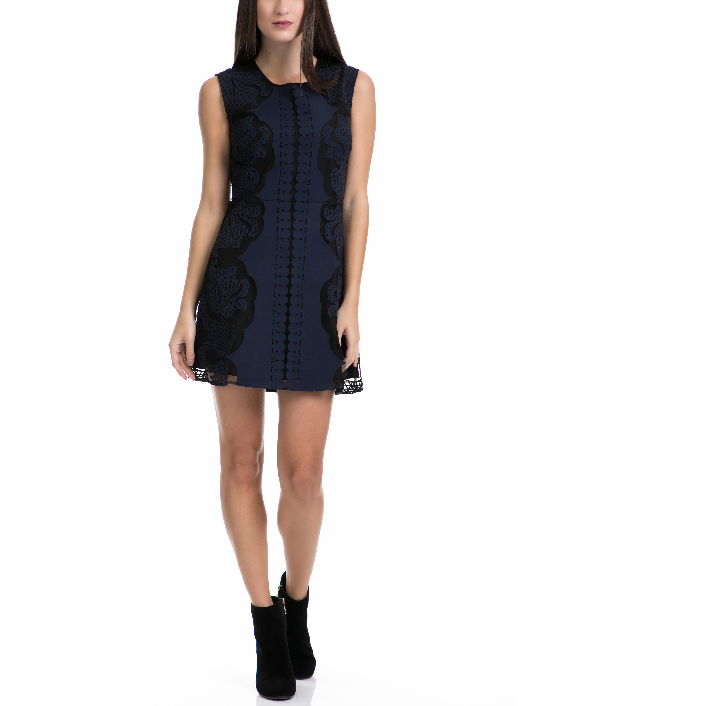 JUICY COUTURE - Φόρεμα JUICY COUTURE μαύρο-μπλε γυναικεία ρούχα φορέματα μίνι