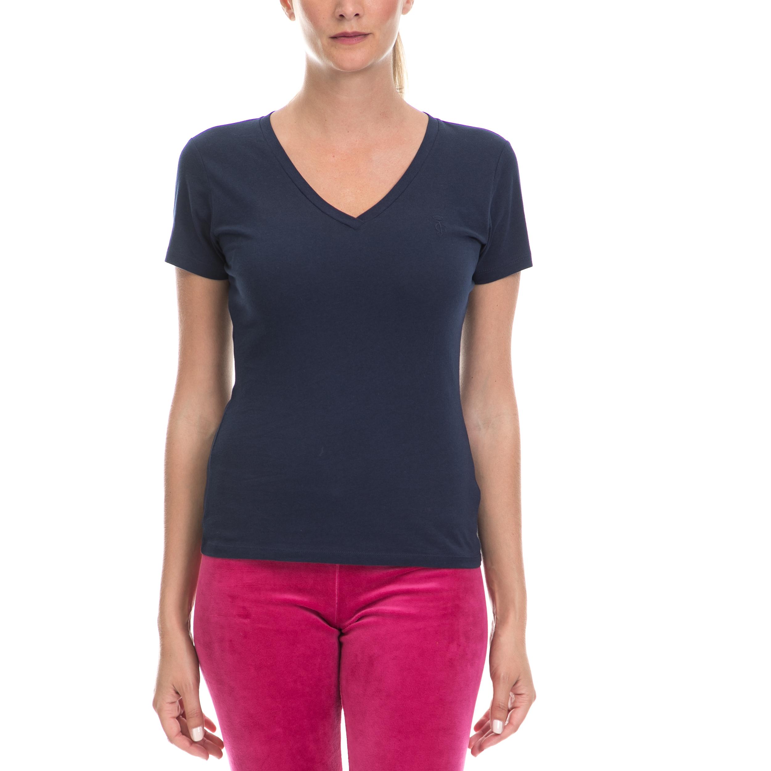JUICY COUTURE – Γυναικεία μπλούζα JUICY COUTURE μπλε