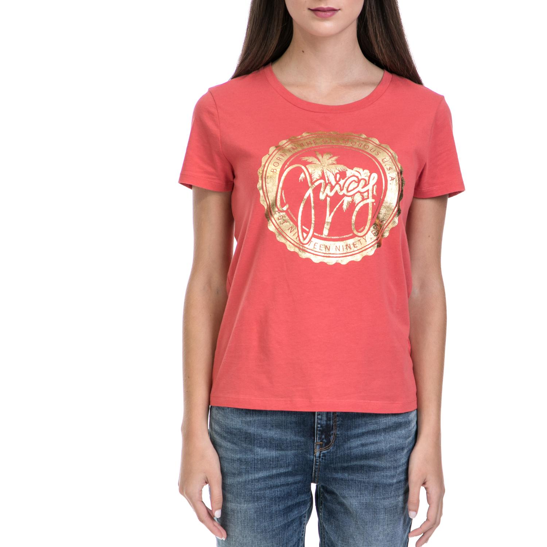 JUICY COUTURE – Γυναικεία μπλούζα JUICY COUTURE κόκκινη