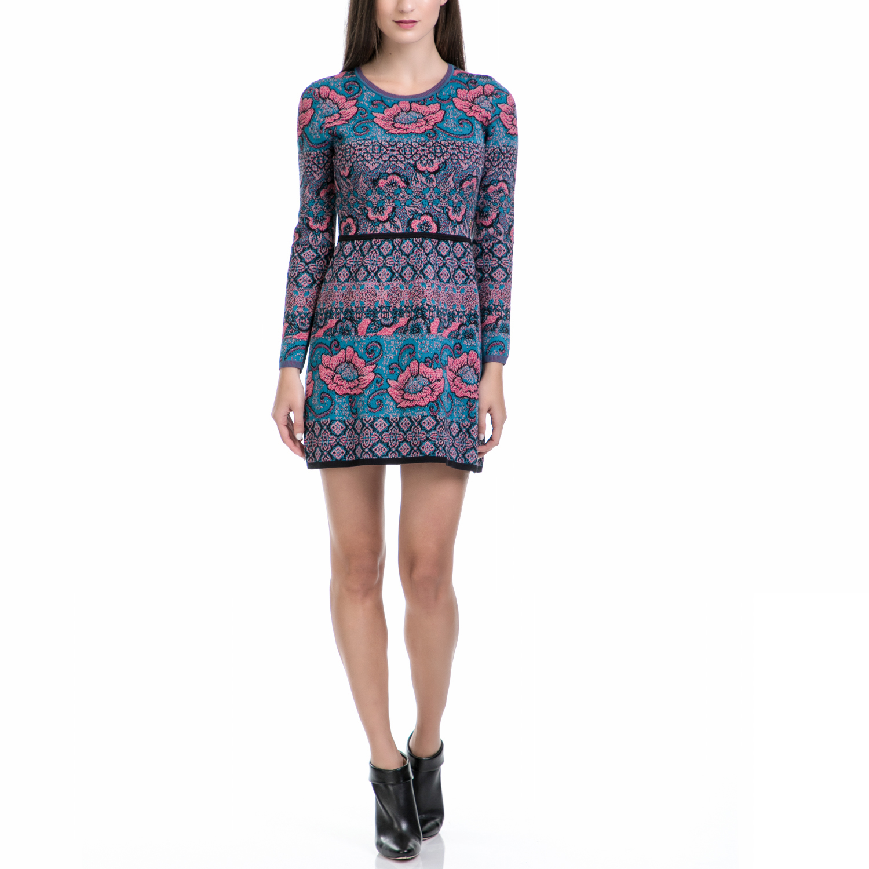 JUICY COUTURE - Φόρεμα JUICY COUTURE εμπριμέ γυναικεία ρούχα φορέματα μίνι