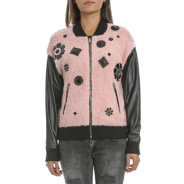 Γυναικεία   Ρούχα   Πανωφόρια   Μπουφάν   JUICY COUTURE - Γυναικείο jacket  διπλής όψης JUICY μαύρο-χρυσό - GoldenShopping.gr 23e025da29f