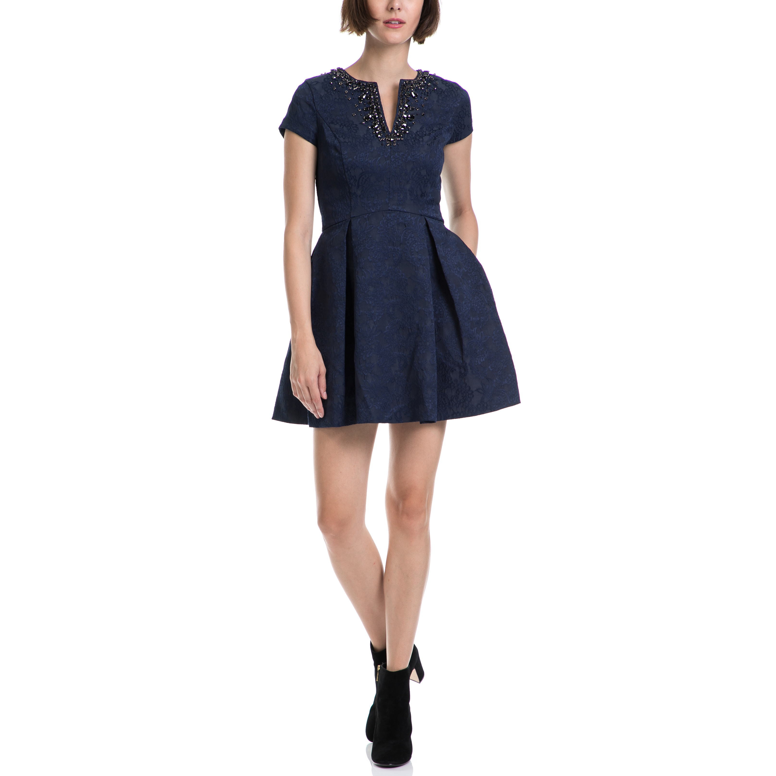JUICY COUTURE – Γυναικείο φόρεμα JUICY COUTURE μπλε