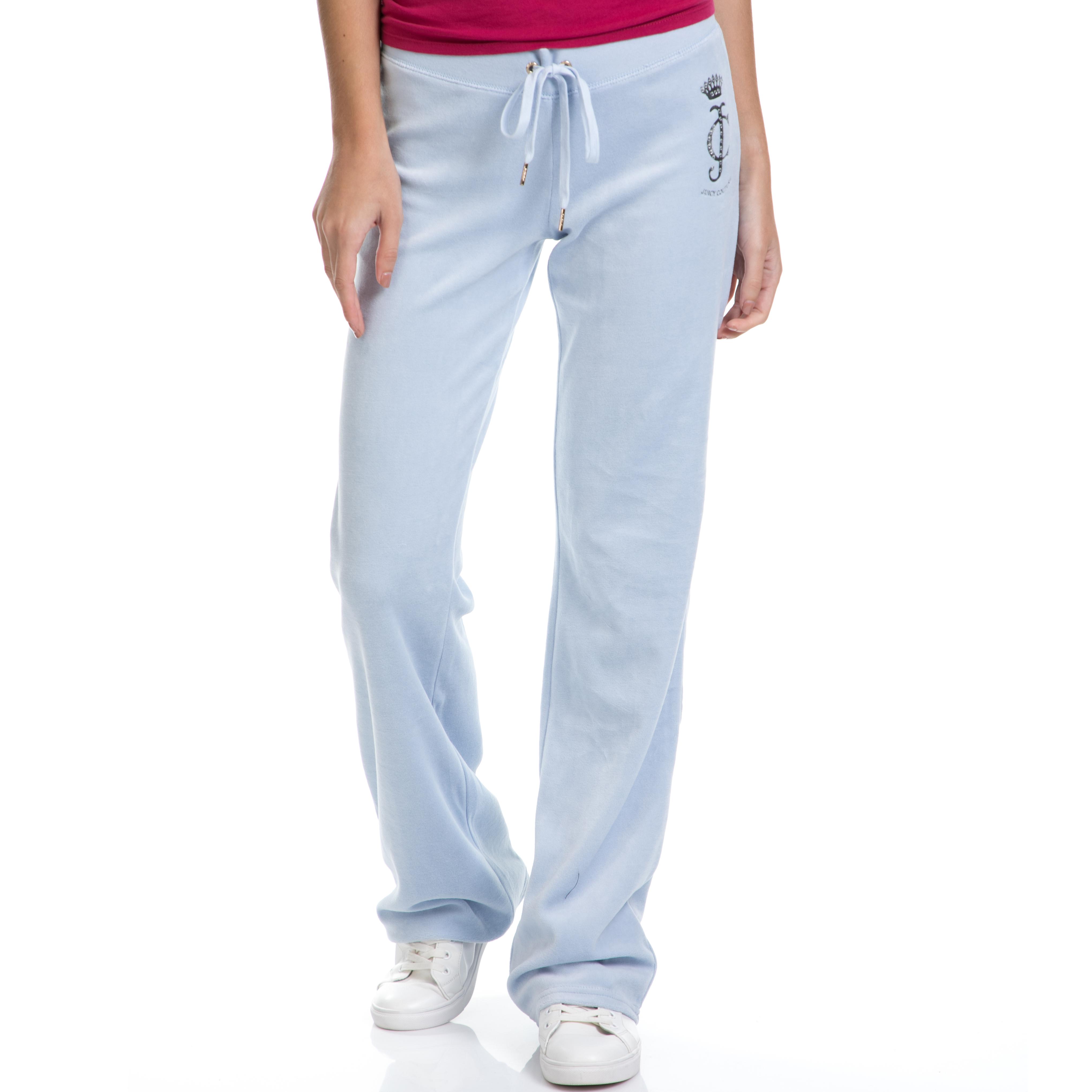 JUICY COUTURE – Γυναικεία φόρμα LOGO VLR STARBURST CAMEO γαλάζια