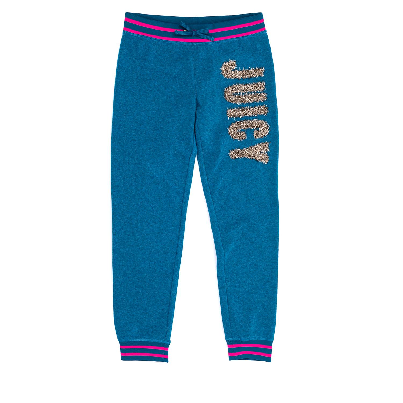 JUICY COUTURE KIDS – Παιδικό παντελόνι JUICY COUTURE KIDS μπλε