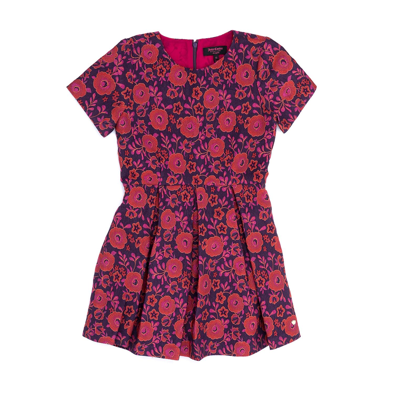 JUICY COUTURE KIDS – Παιδικό φόρεμα JUICY COUTURE KIDS εμπριμέ