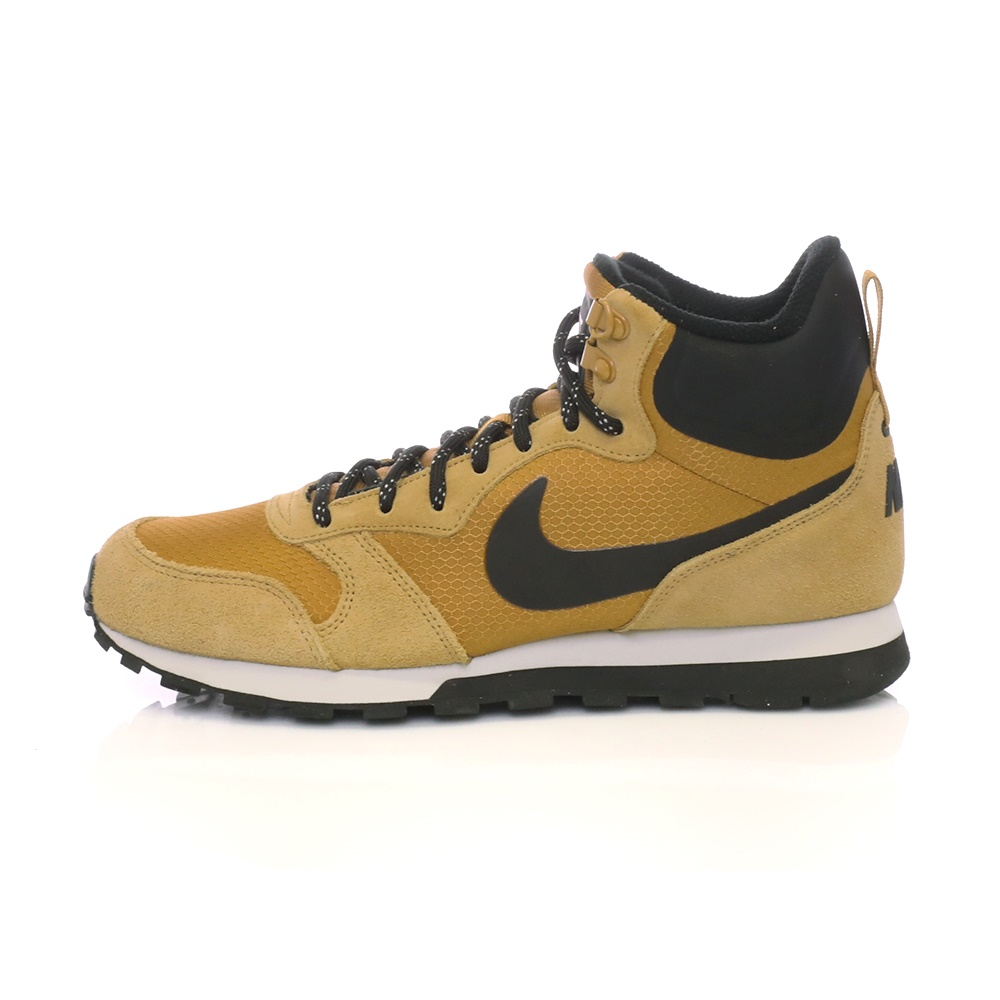 -24% Factory Outlet NIKE – Ανδρικά αθλητικά μποτάκια NIKE MD RUNNER 2 MID  PREM καφέ-μαύρα 5bdc9cc4474