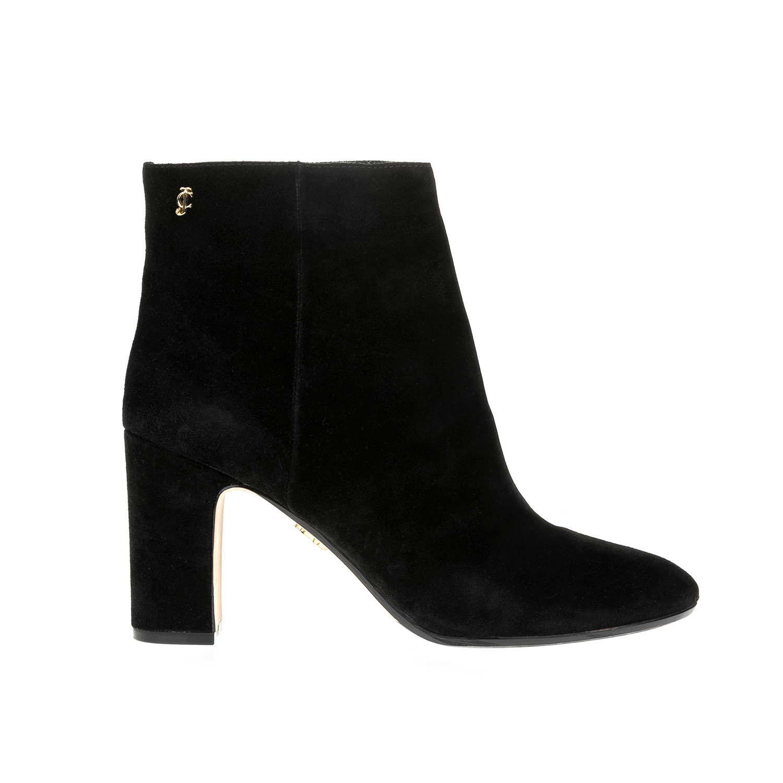 JUICY COUTURE - Γυναικεία μποτάκια JUICY COUTURE μαύρα γυναικεία παπούτσια μπότες μποτάκια μποτάκια