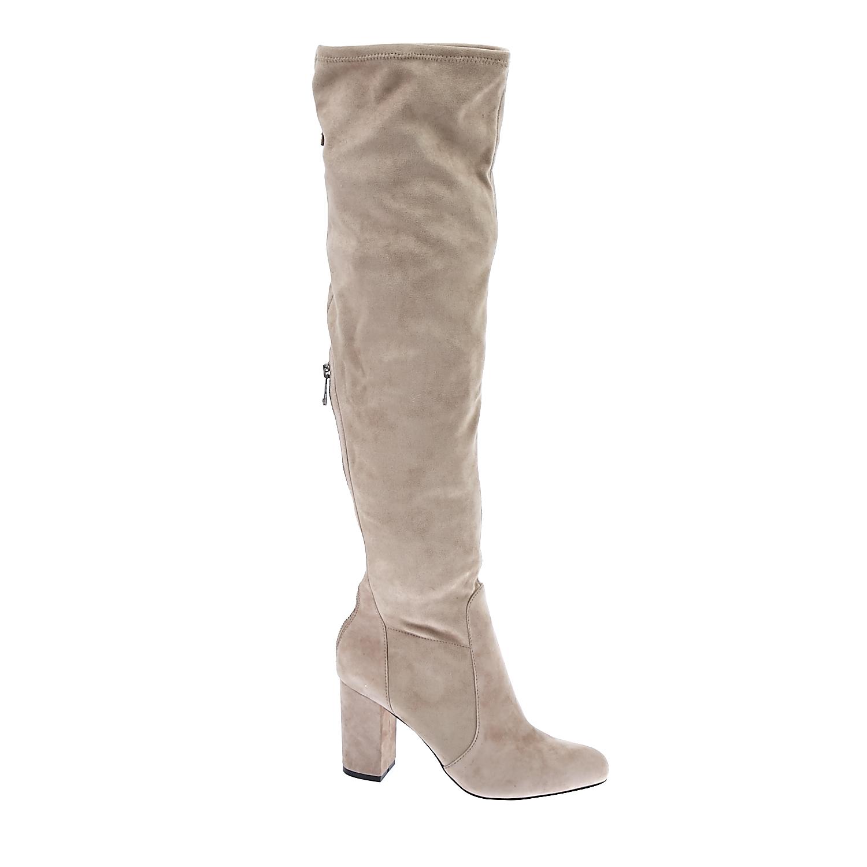 JUICY COUTURE - Γυναικείες μπότες Juicy Couture γκρι γυναικεία παπούτσια μπότες μποτάκια μπότες