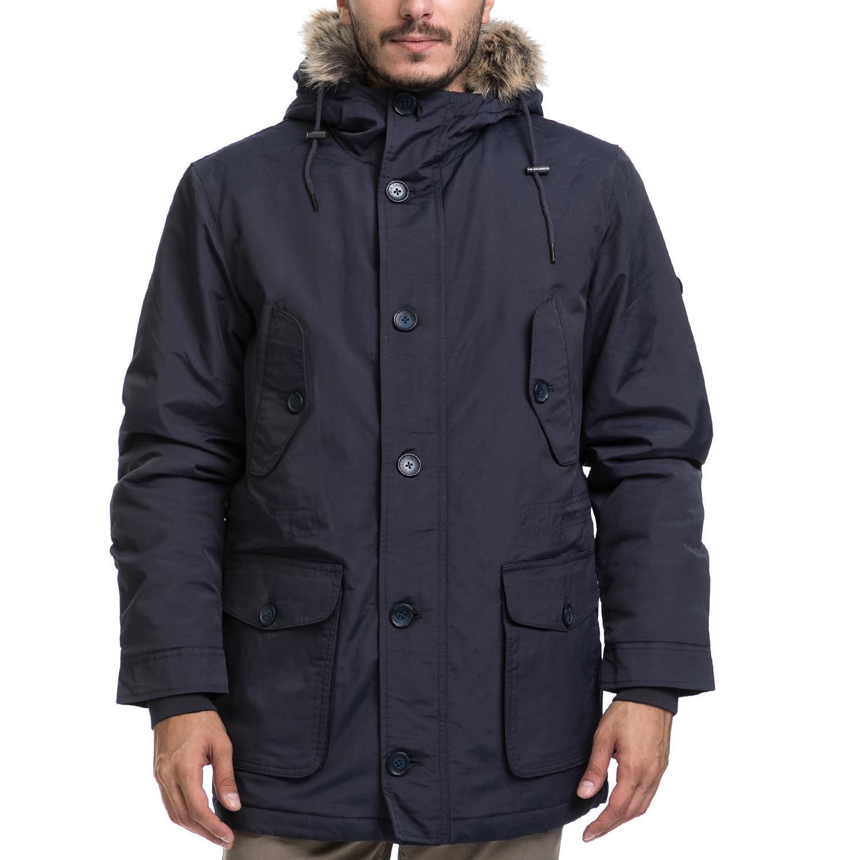 BEN SHERMAN – Ανδρικό παλτό BEN SHERMAN μπλε