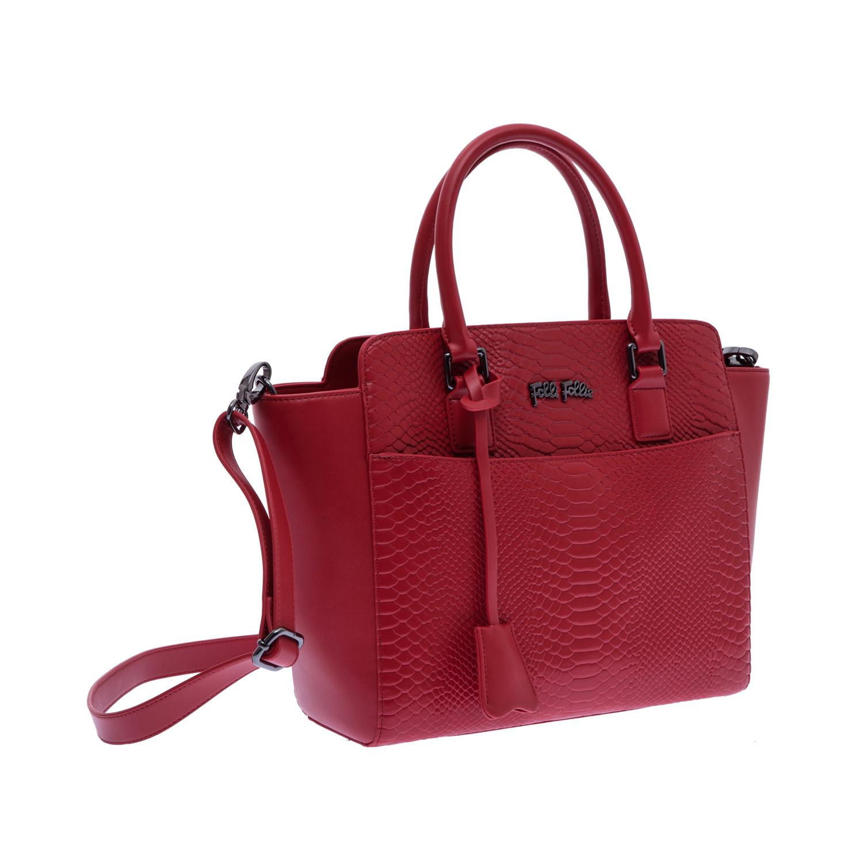 FOLLI FOLLIE – Γυναικεία τσάντα Folli Follie κόκκινη 1480022.0-0000