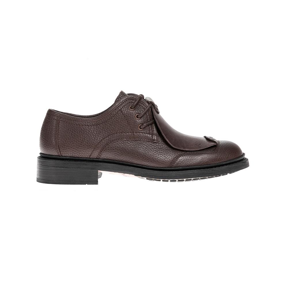 G-STAR RAW - Αντρικά παπούτσια G-STAR RAW καφέ ανδρικά παπούτσια μοκασίνια loafers