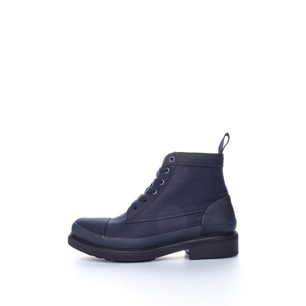 G-STAR RAW - Ανδρικά μποτάκια G-Star Raw Myrow Denim σκούρο μπλε ανδρικά παπούτσια μπότες μποτάκια μποτάκια
