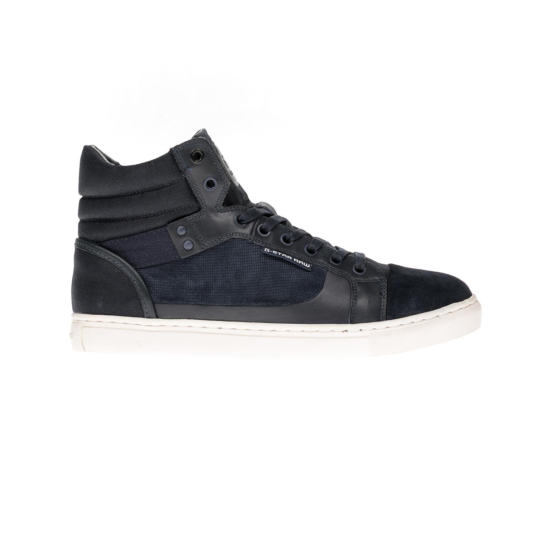 G-STAR RAW - Αντρικά παπούτσια G-STAR RAW μπλε ανδρικά παπούτσια μπότες μποτάκια μποτάκια