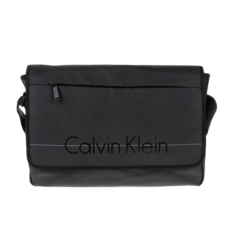 CALVIN KLEIN JEANS – Ανδρική τσάντα LOGAN μαύρη
