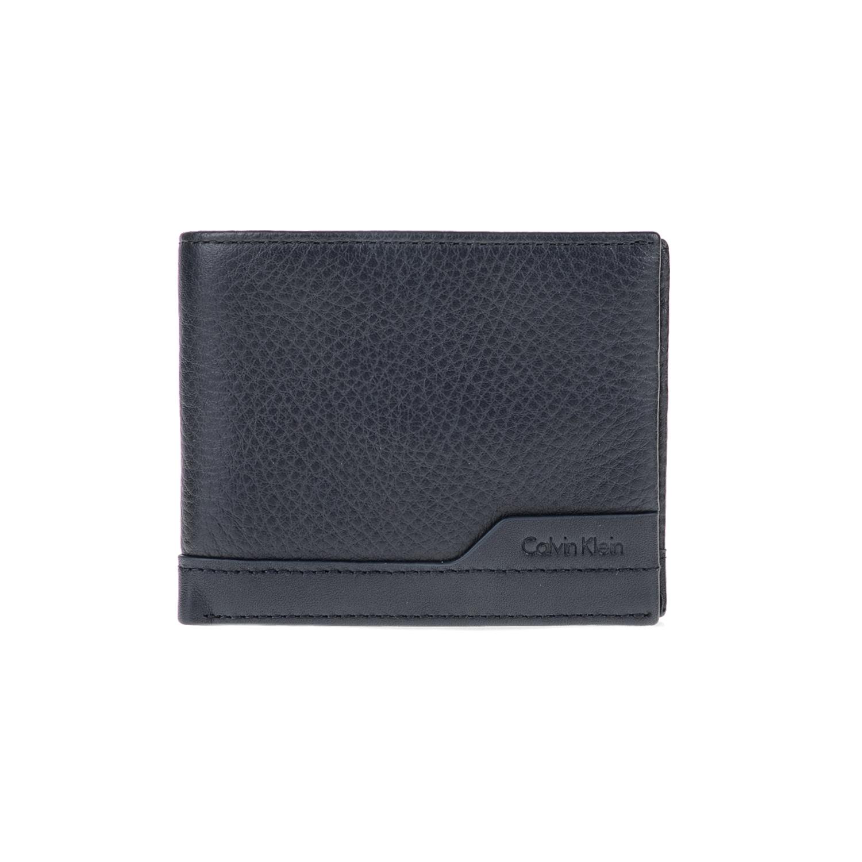 CALVIN KLEIN JEANS – Ανδρικό πορτοφόλι NORMAN SLIMFOLD 6CC μπλε