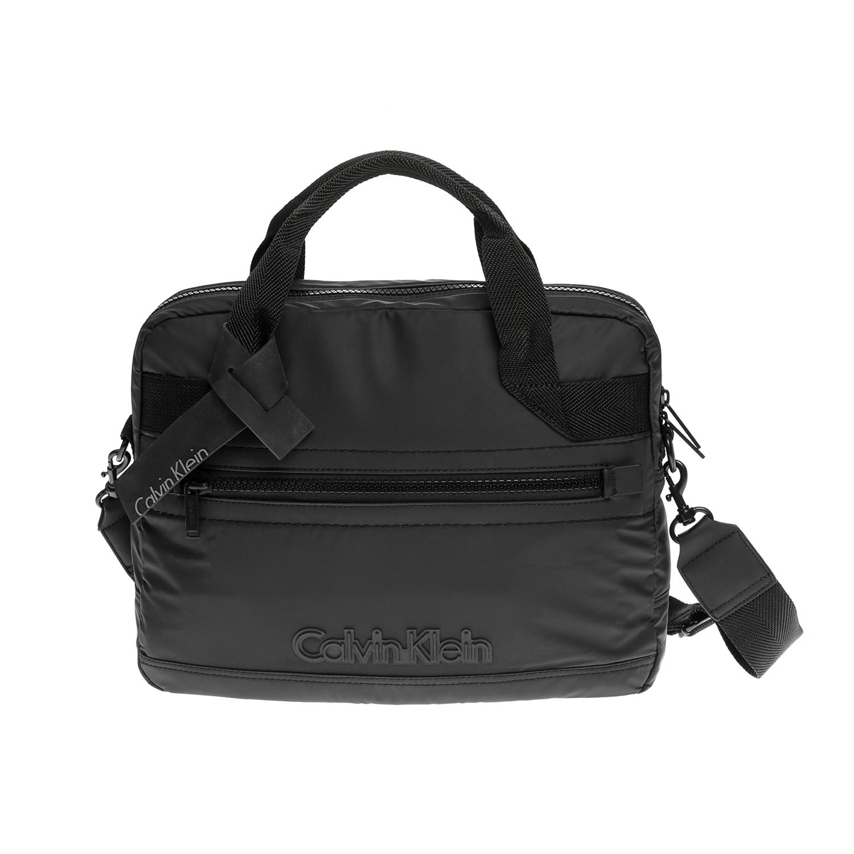 CALVIN KLEIN JEANS – Αντρική τσάντα laptop CALVIN KLEIN JEANS μαύρη