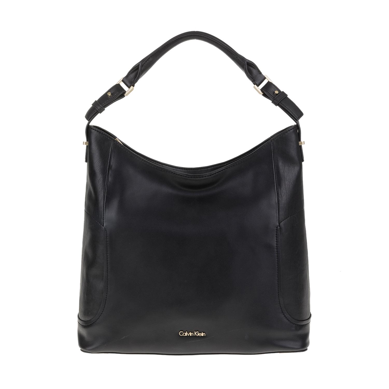 CALVIN KLEIN JEANS – Γυναικεία τσάντα ώμου C4ROLYN HOBO Calvin Klein Jeans μαύρη