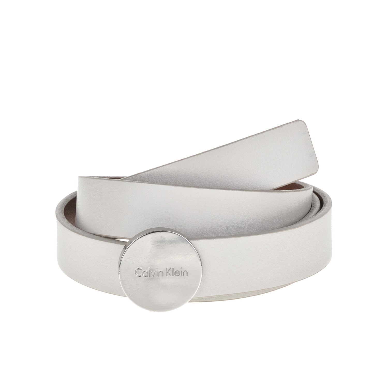 CALVIN KLEIN JEANS - Γυναικεία ζώνη Calvin Klein Jeans λευκή γυναικεία αξεσουάρ ζώνες