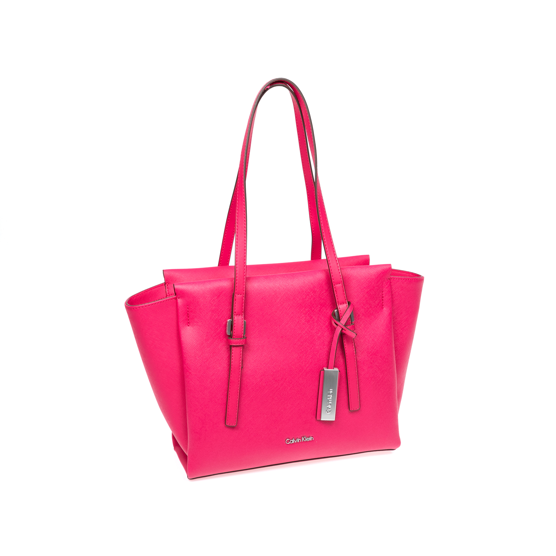 CALVIN KLEIN JEANS – Γυναικεία τσάντα Calvin Klein Jeans ροζ-φούξια 1480394.0-0047