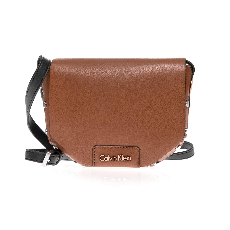 CALVIN KLEIN JEANS – Γυναικεία τσάντα CALVIN KLEIN JEANS καφέ 5c4e3695e13