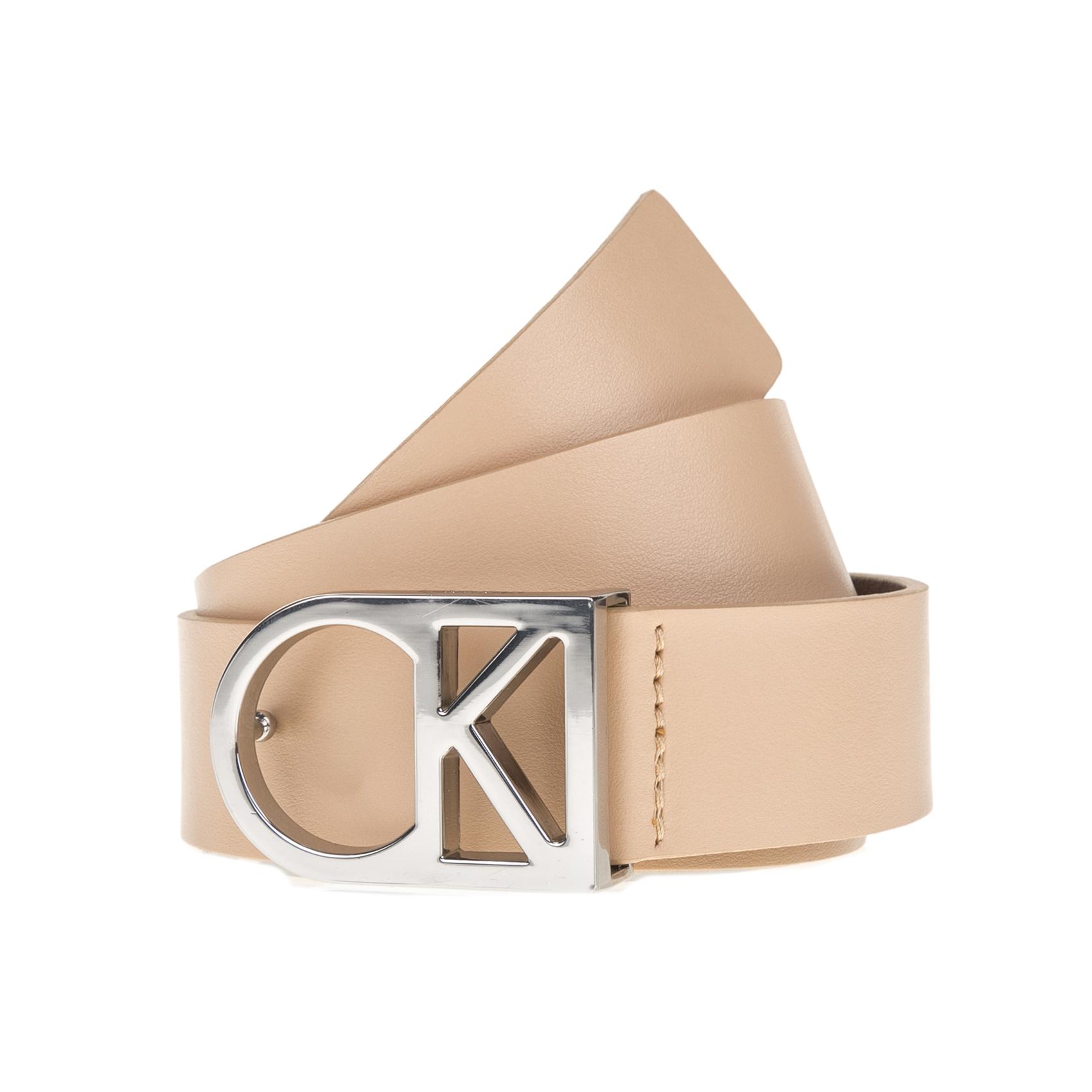 CALVIN KLEIN JEANS – Γυναικεία ζώνη Calvin Klein Jeans μπεζ
