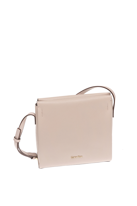 CALVIN KLEIN JEANS – Γυναικεία τσάντα Calvin Klein Jeans μπεζ 1480401.0-00M6