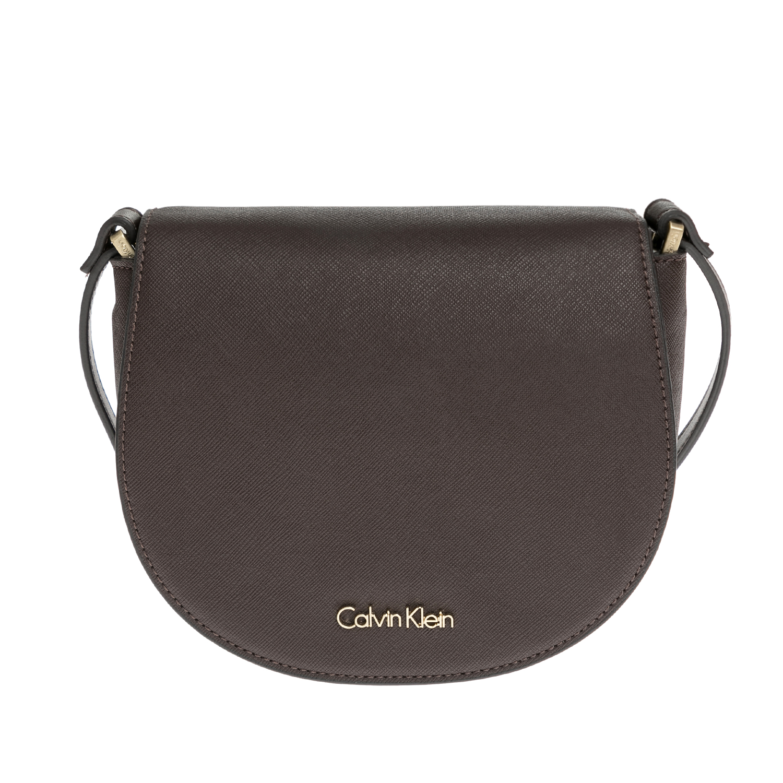 CALVIN KLEIN JEANS – Γυναικεία τσάντα CALVIN KLEIN JEANS καφέ 1480405.0-00K5