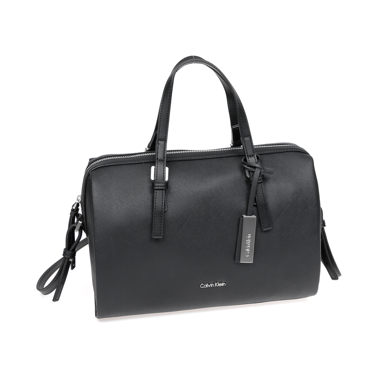 CALVIN KLEIN JEANS – Γυναικεία τσάντα χειρός CALVIN KLEIN M4RISSA DUFFLE BAG μαύρη 1480412.0-0071