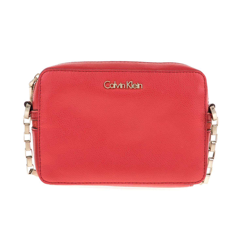 CALVIN KLEIN JEANS – Γυναικεία τσάντα JULI4 MICRO CROSSBODY κόκκινη 1480417.0-0045