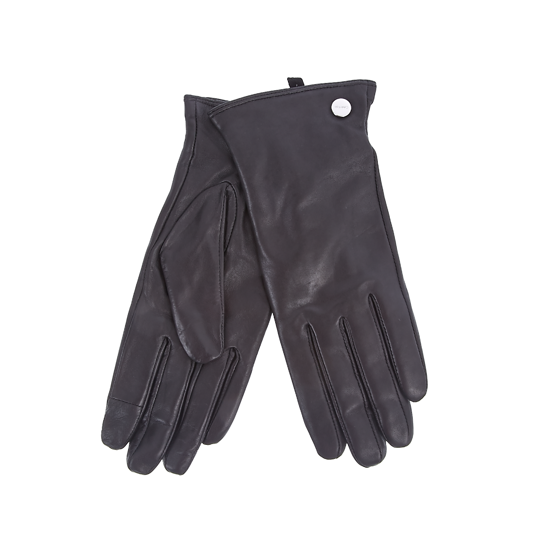 CALVIN KLEIN JEANS - Γυναικεία γάντια Calvin Klein Jeans μαύρα γυναικεία αξεσουάρ φουλάρια κασκόλ γάντια