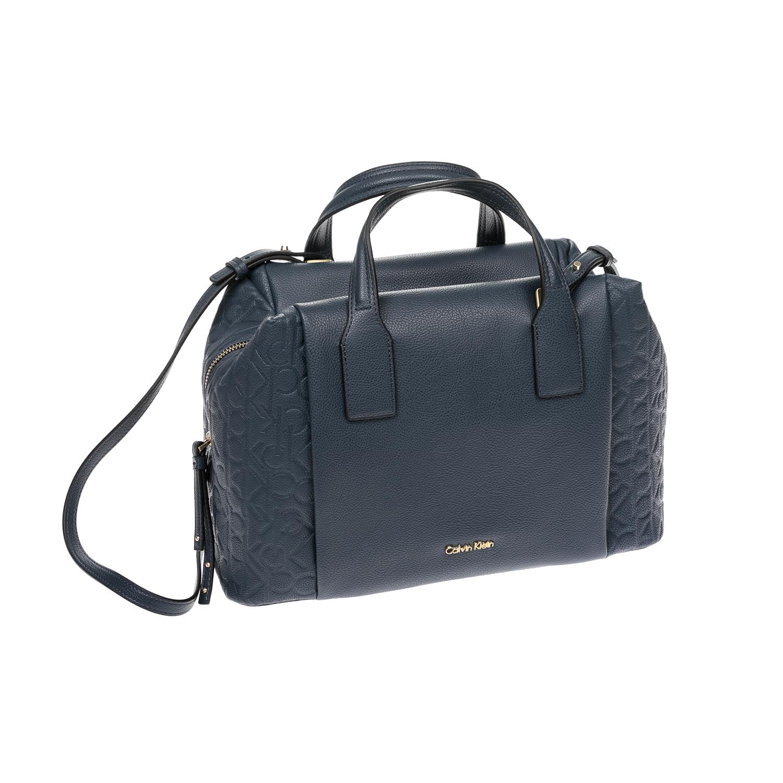 CALVIN KLEIN JEANS – Γυναικεία τσάντα CALVIN KLEIN JEANS μπλε 1480438.0-0019