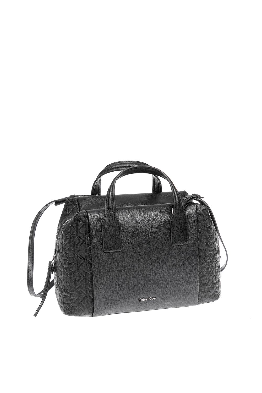 CALVIN KLEIN JEANS - Γυναικεία τσάντα Calvin Klein Jeans μαύρη 9a8833b6da0