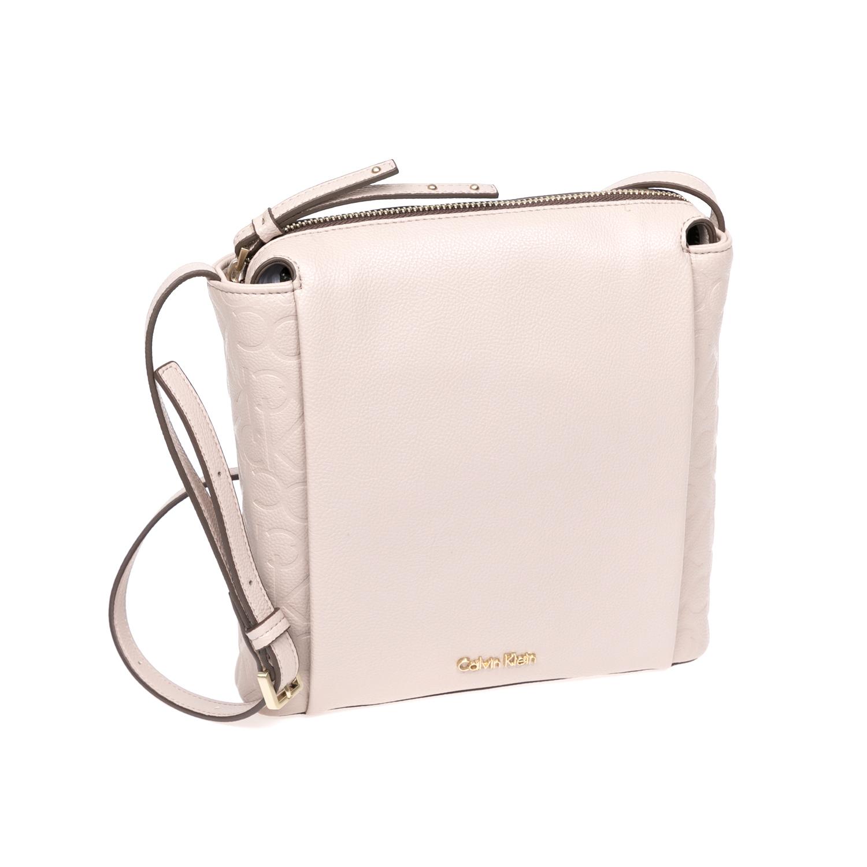 CALVIN KLEIN JEANS – Γυναικεία τσάντα Calvin Klein Jeans μπεζ 1480444.0-00M6