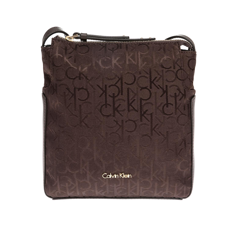 CALVIN KLEIN JEANS – Γυναικεία τσάντα CALVIN KLEIN JEANS καφέ 1480455.0-00K5