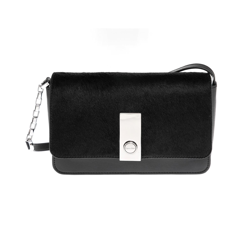 CALVIN KLEIN JEANS – Γυναικεία τσάντα CALVIN KLEIN JEANS μαύρη 1480485.0-0071