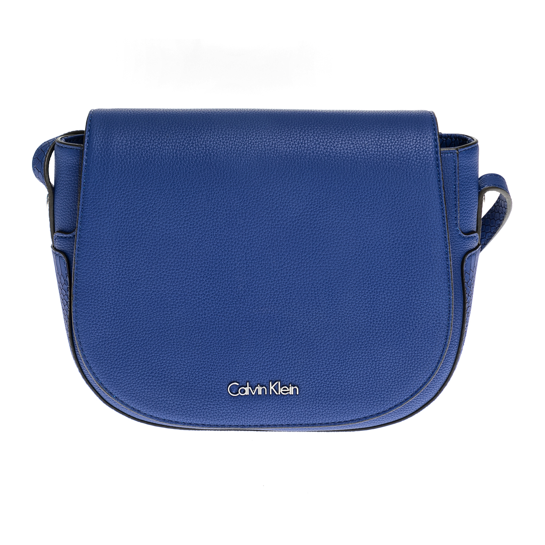 CALVIN KLEIN JEANS – Γυναικεία τσάντα CALVIN KLEIN JEANS μπλε 1480506.0-0026
