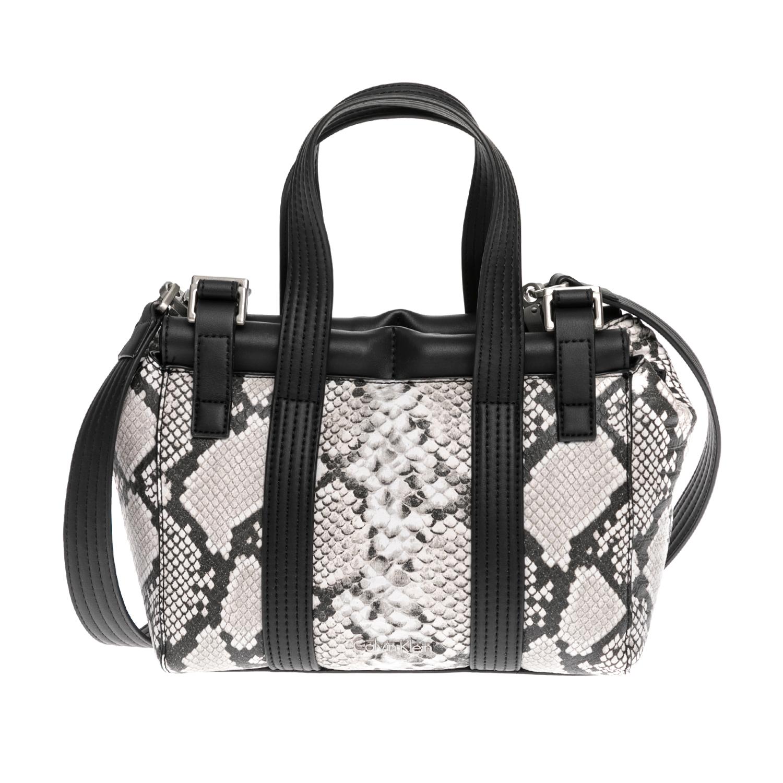 CALVIN KLEIN JEANS – Γυναικεία τσάντα CALVIN KLEIN JEANS γκρι 1480509.0-0084