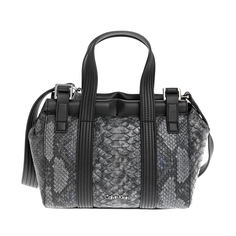 CALVIN KLEIN JEANS – Γυναικεία τσάντα CALVIN KLEIN JEANS γκρι 1480509.0-0086
