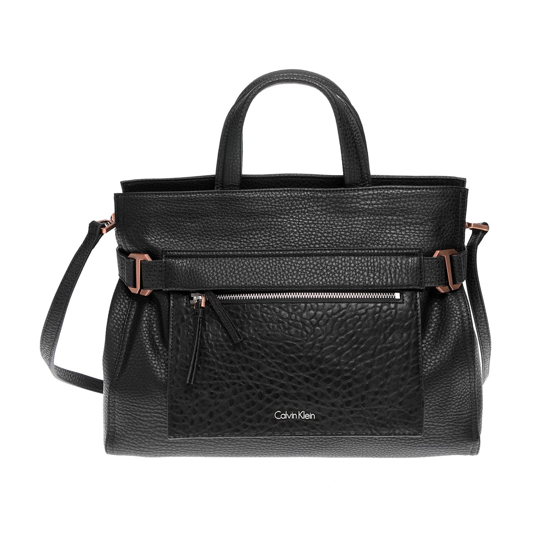 CALVIN KLEIN JEANS – Γυναικεία τσάντα CALVIN KLEIN JEANS μαύρη 1480527.0-0071