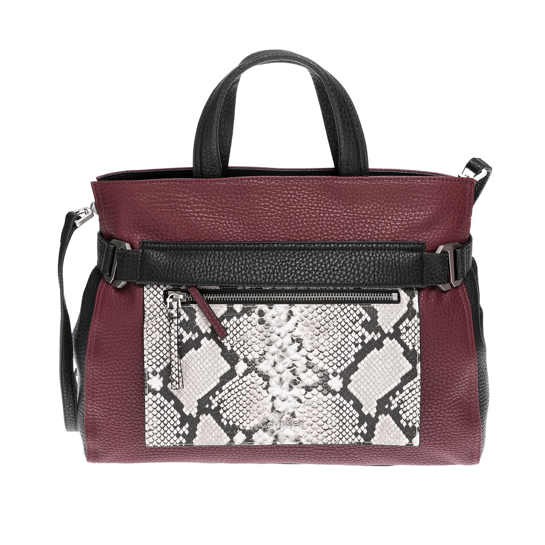 CALVIN KLEIN JEANS – Γυναικεία τσάντα CALVIN KLEIN JEANS μπορντό 1480527.0-Q384