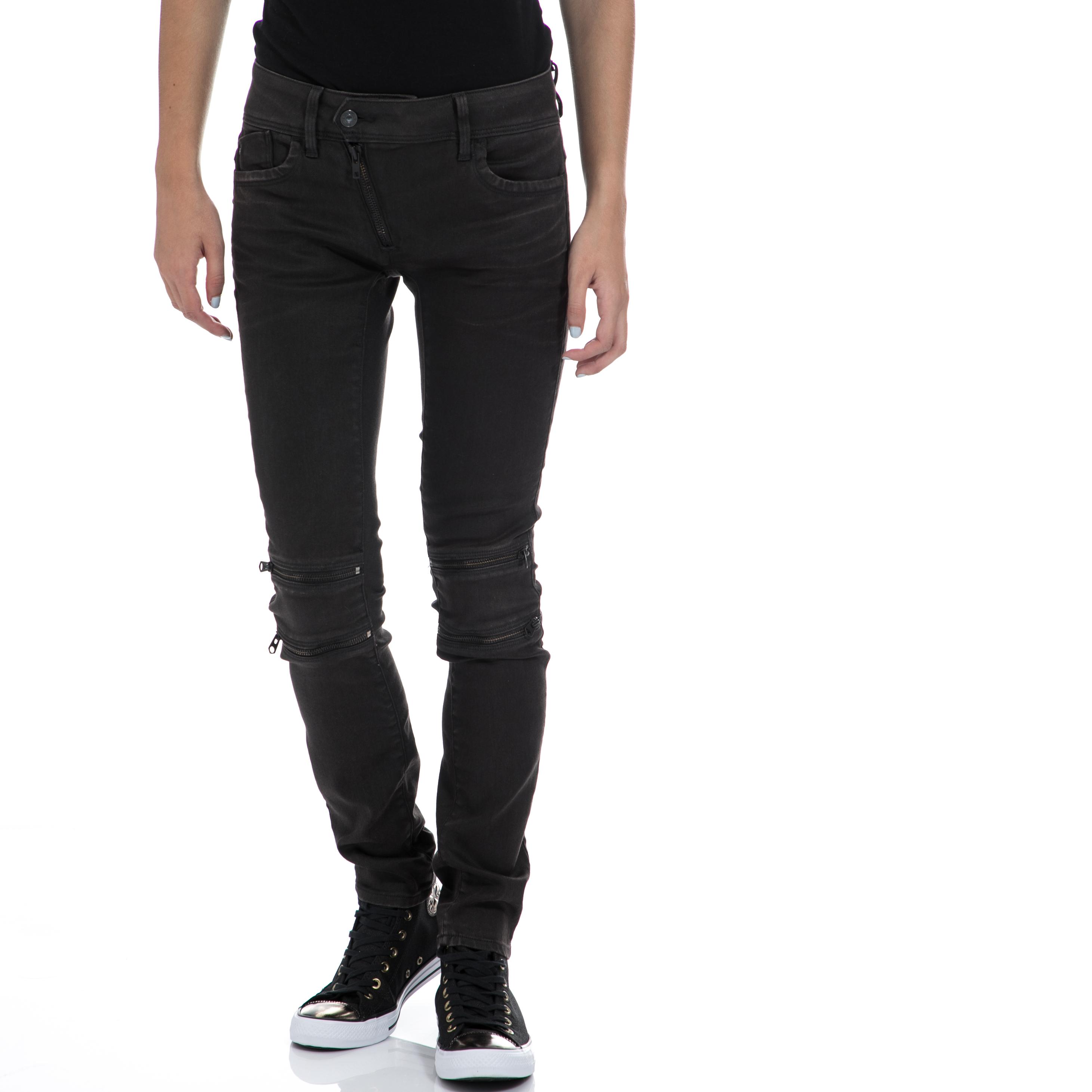 G-STAR RAW - Γυναικείο τζιν παντελόνι G-STAR RAW μαύρο γυναικεία ρούχα παντελόνια jean