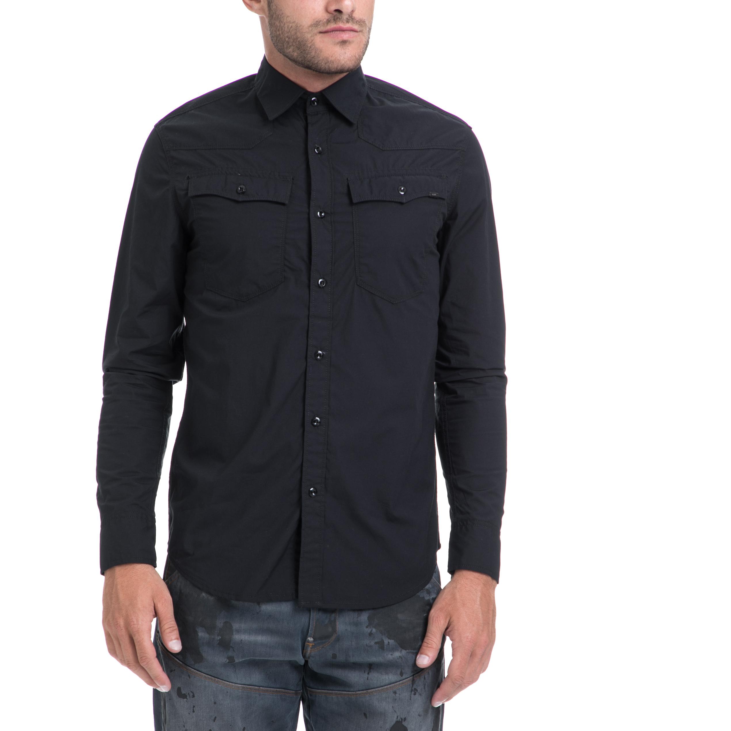 G-STAR RAW – Αντρικό πουκάμισο G-STAR RAW μαύρο