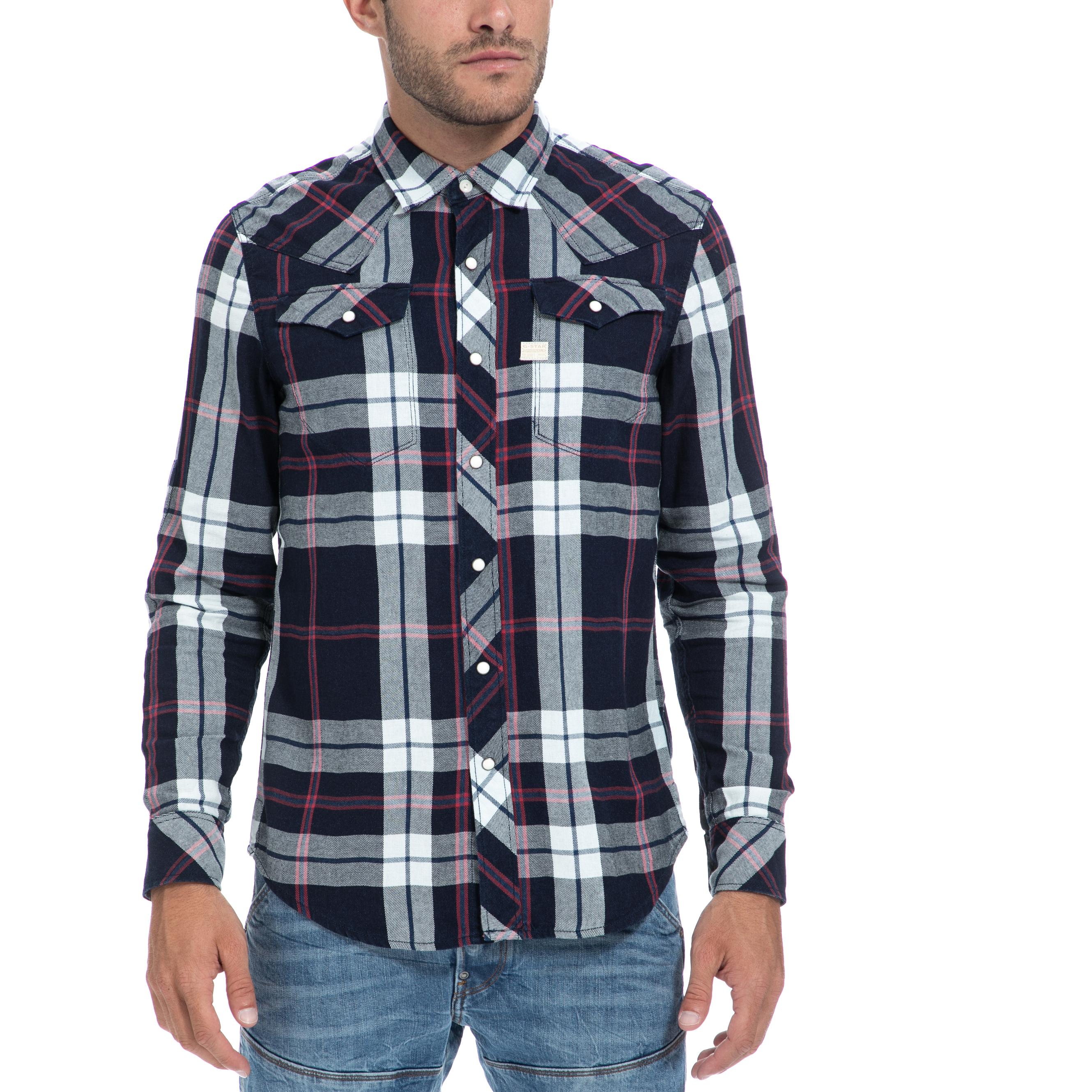 G-STAR RAW – Αντρικό πουκάμισο G-STAR RAW καρό