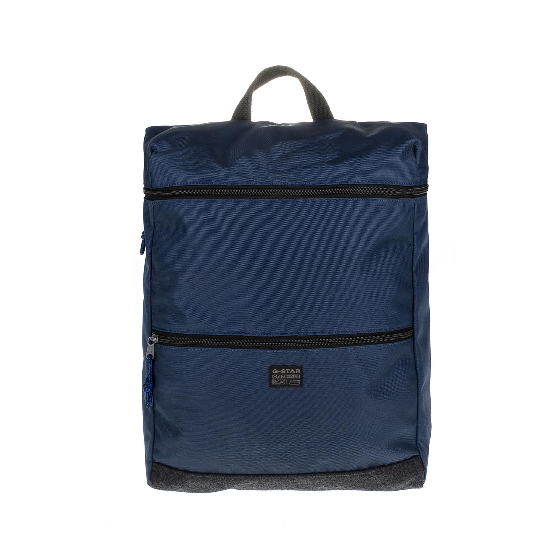 G-STAR - Αντρικό σακίδιο G-STAR RAW μπλε ανδρικά αξεσουάρ τσάντες σακίδια πλάτης