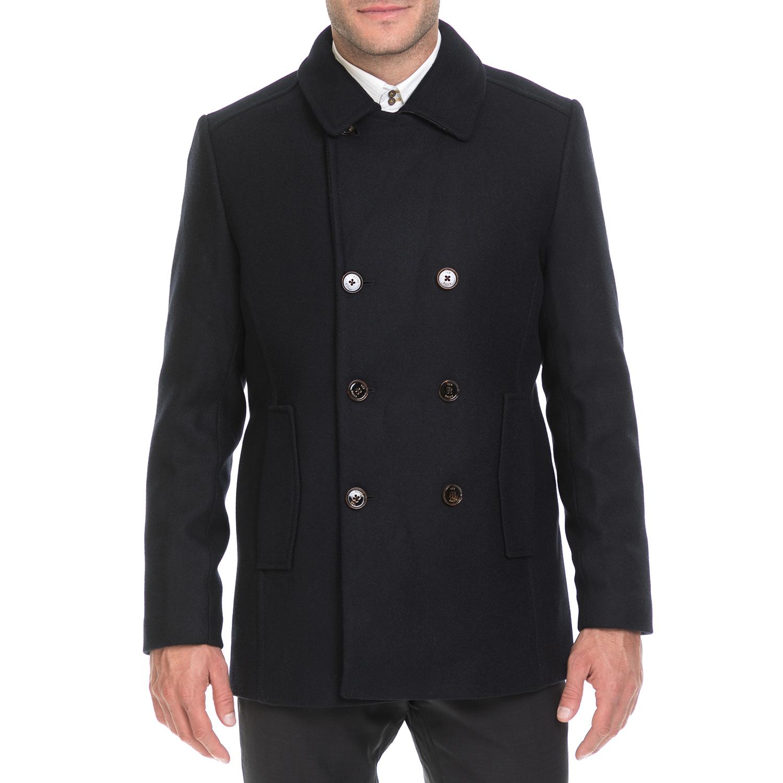 TED BAKER – Ανδρικό παλτό IBIZA TED BAKER μαύρο