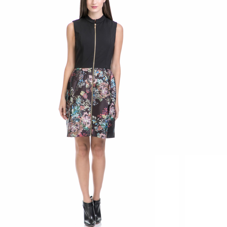 TED BAKER - Φόρεμα KEIRLY εμπριμέ γυναικεία ρούχα φορέματα μίνι